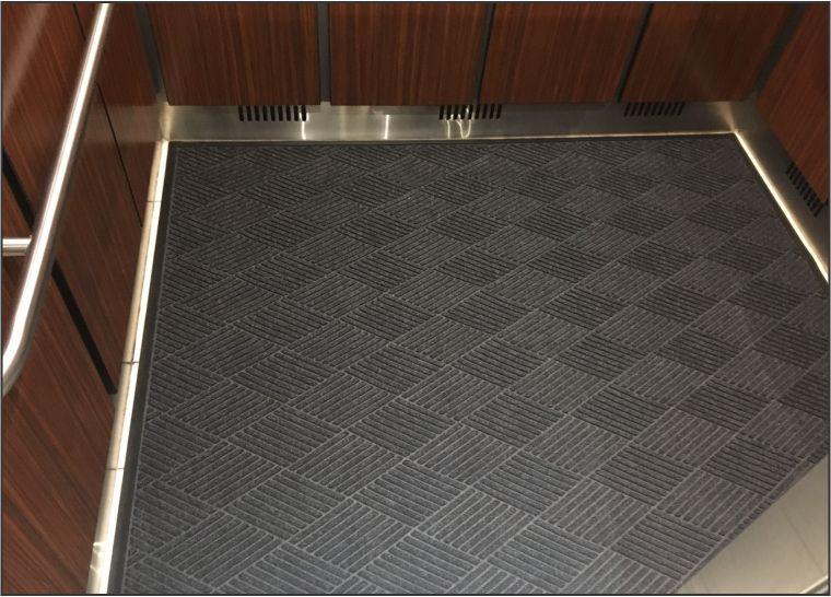 Elevator Floor Mat Slip Resistant Mat Commercial Mats
