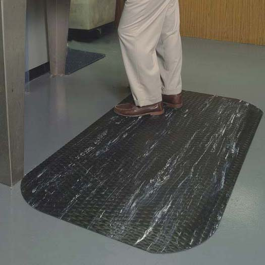 Hog Heaven Marble Top Anti Fatigue Mat by Commercial Mats and Rubber.com