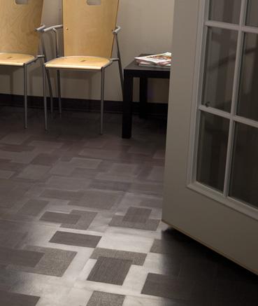 Roppe Dimensions Rubber Tile Designer Floor Tiles