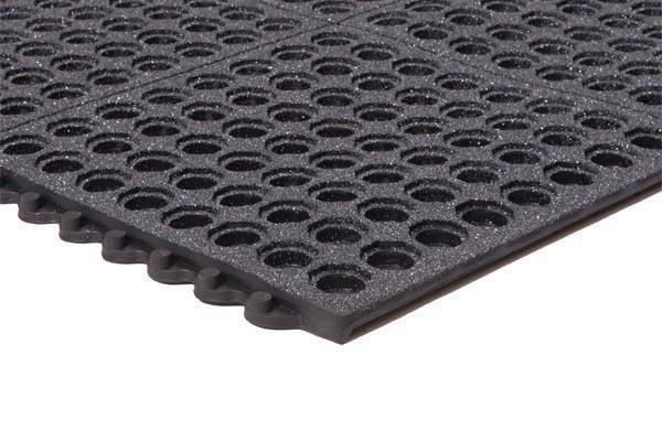 Performa Interlocking Kitchen Mat Perforated Rubber Matting