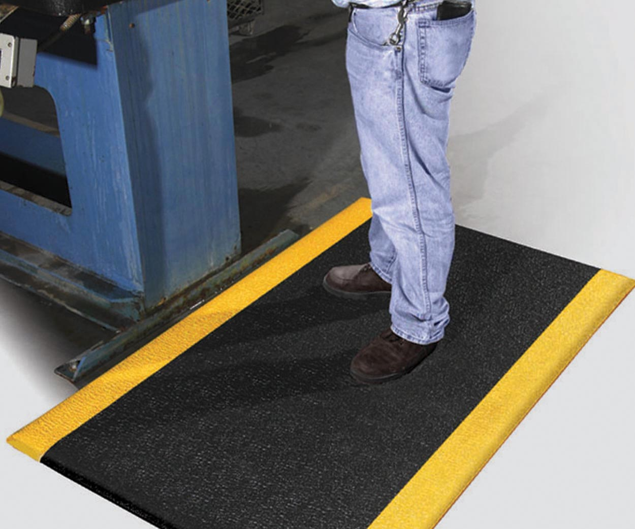 Safety Soft Foot Industrial Anti Fatigue Mat Economical