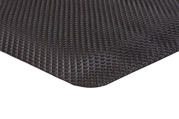 Apache Supreme SlipTech Anti Fatigue Safety Mat Black