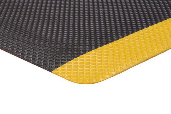 Apache Supreme SlipTech Anti Fatigue Safety Mat Black Yellow