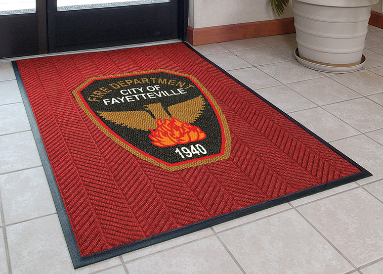 Logo Entrance Mat Custom Logo Rug Commercial Mats Rubber