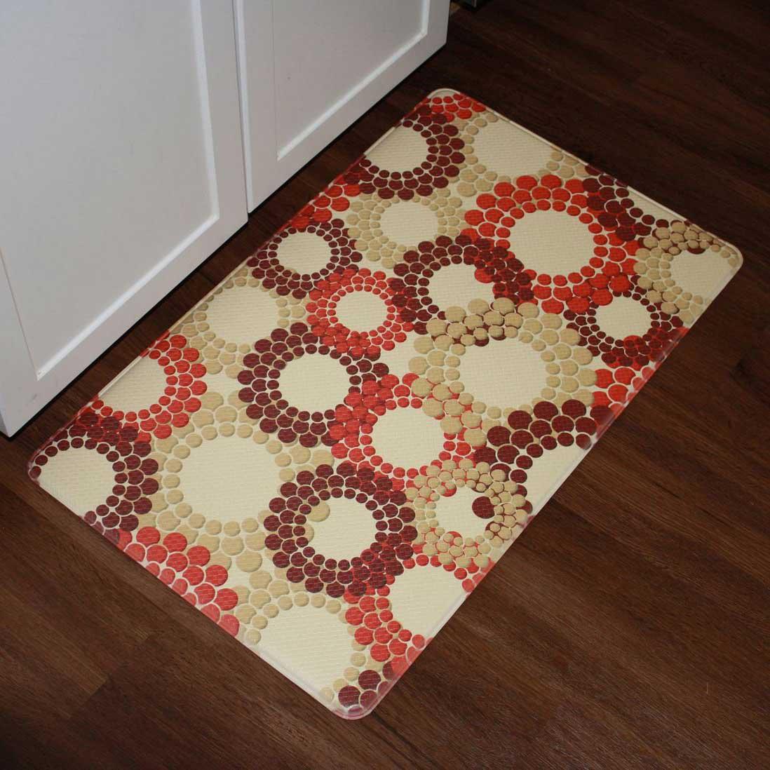 Comfort Smart Kitchen Mat Circle Design   Designer ...