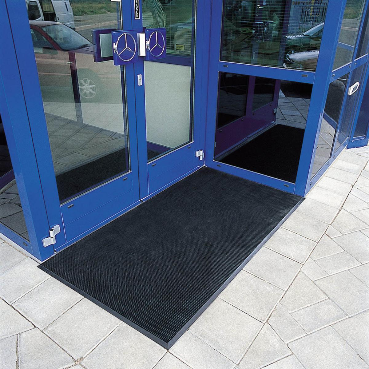 Rubber Brush Rubber Finger Entrance Mats