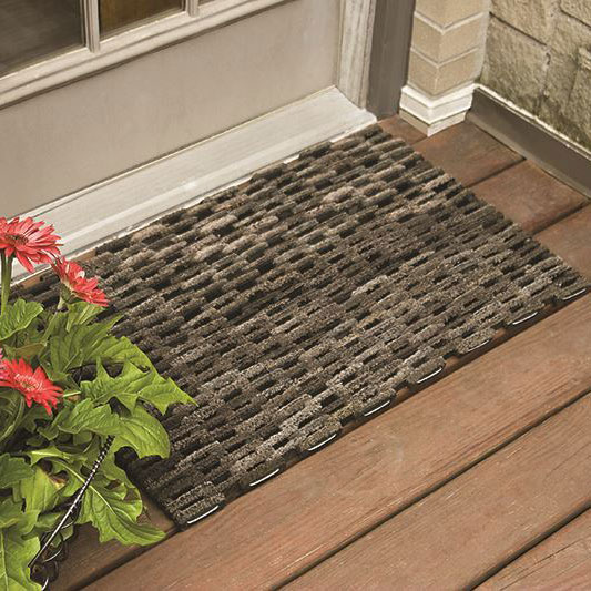 Dura Rug 400 Tire Link Mat Recycled Rubber Door Mat