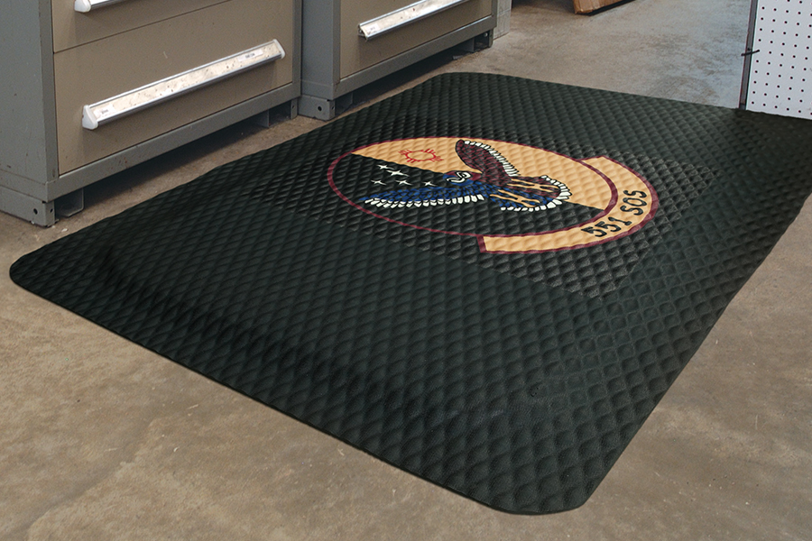 Hog Heaven Impressions Anti-Fatigue Logo Mat