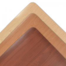 Vinyl Kitchen Mat Wood Grain