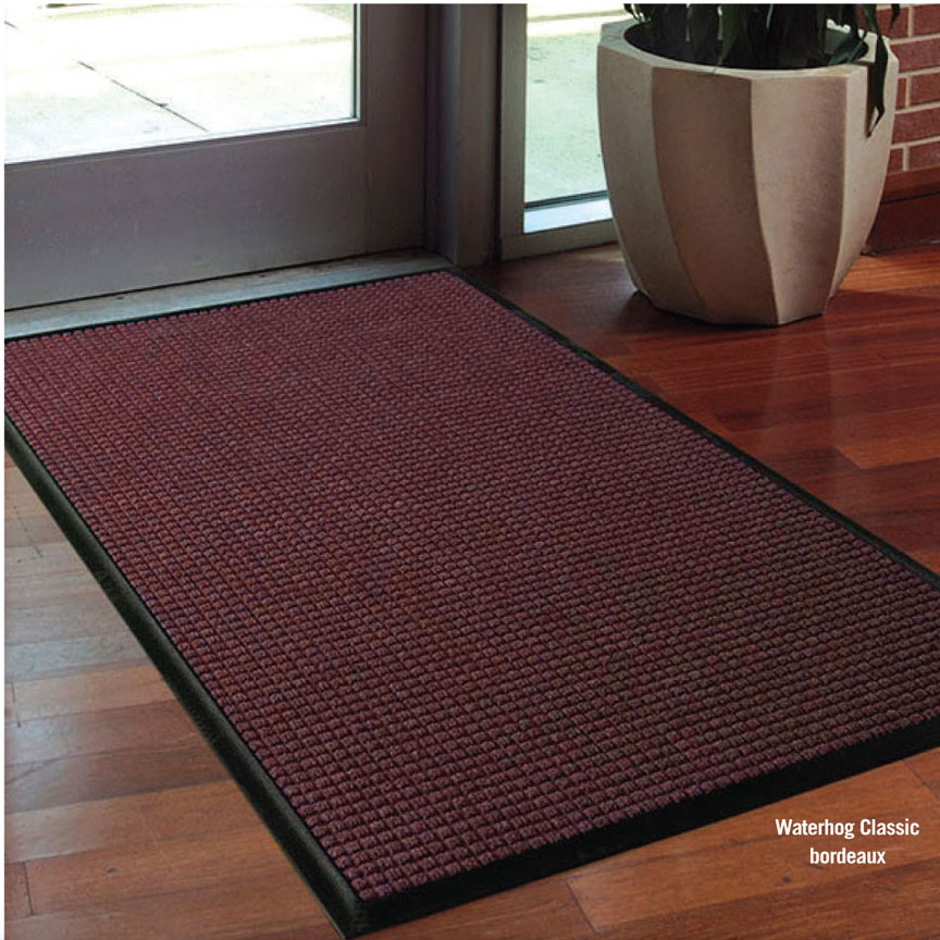 Waterhog Mat with Anchor Safe Backing