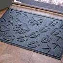 Aqua Shield Animal Tracks Door Mat