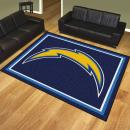 Los Angeles Chargers Area Rugs