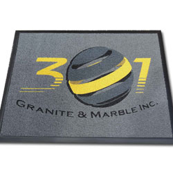 Vinyl Loop Inlay Logo Mats